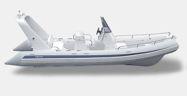 Grand (Rib) SILVER LINE Cruisers S 650 LF
